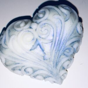 Soft Cream  I Embossed heart 19g