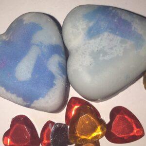 Blueberry & vanilla  |  heart e10g