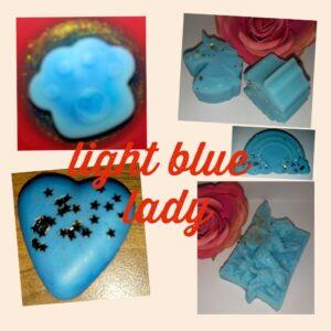 light blue lady
